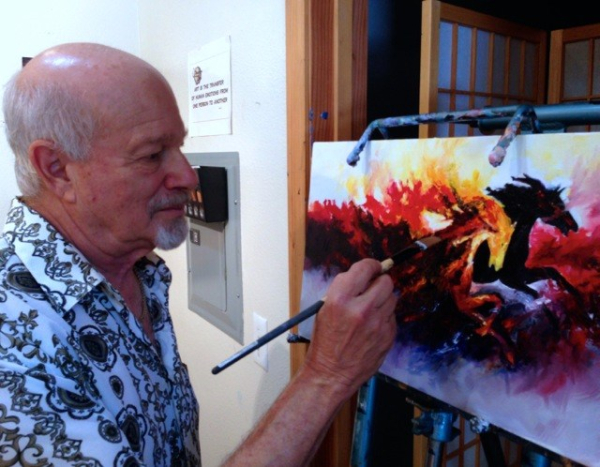 Ron-singerton-working-artist